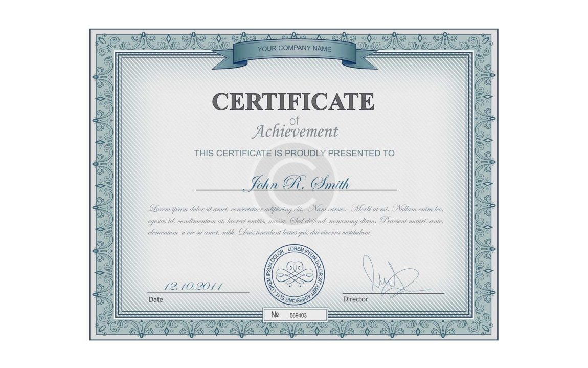 Reed's Certificate